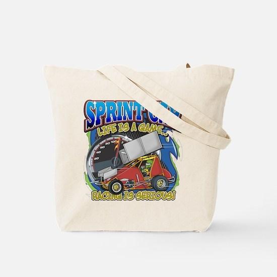 Sprint Car Life Tote Bag