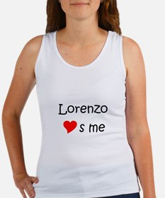 Cute Lorenzo Women's Tank Top