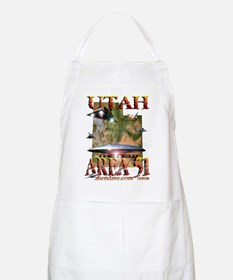 Utah The New Area 51 BBQ Apron