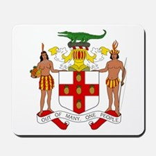 Jamaica Coat Of Arms Computer Mousepad