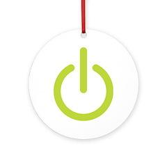 Power Symbol Ornament (Round)