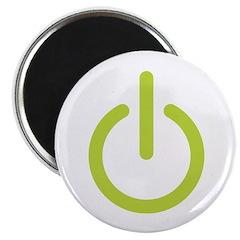 Power Symbol Magnet