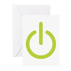Power Symbol Greeting Cards (Pk of 10)