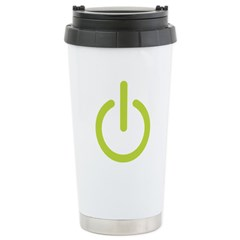 Power Symbol Travel Mug
