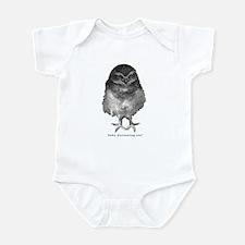Baby burrowing owl Infant Bodysuit