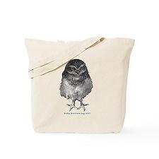 Baby burrowing owl Tote Bag