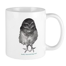 Baby burrowing owl Mug