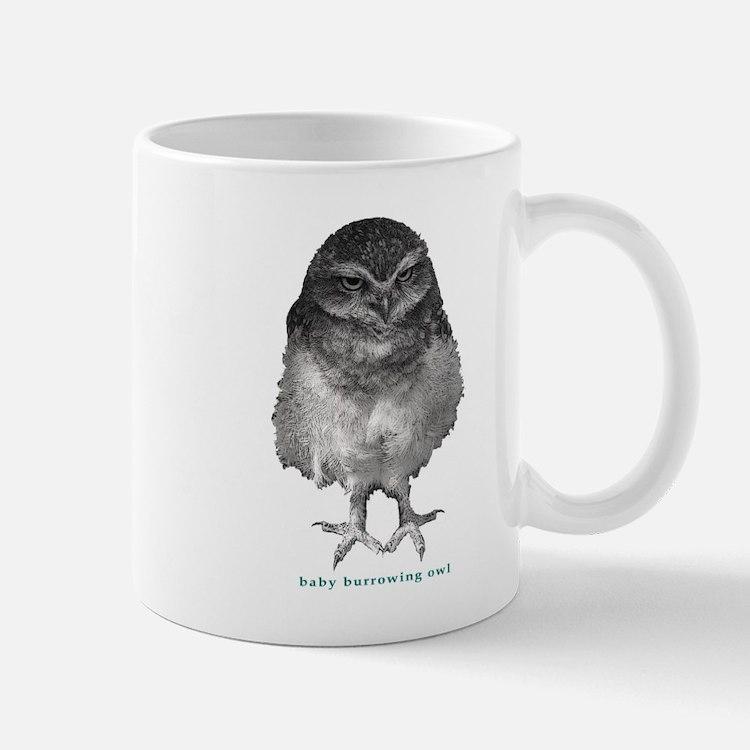 Baby burrowing owl Mug