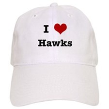 I love Hawks Baseball Cap