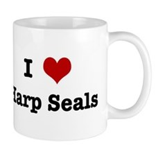 I love Harp Seals Mug