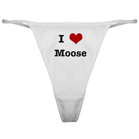 I love Moose Classic Thong