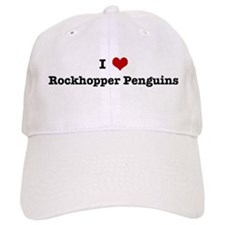 I love Rockhopper Penguins Baseball Cap