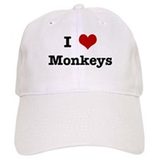 I love Monkeys Baseball Cap