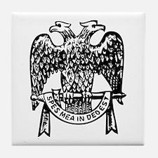 Double Headed Eagle Tile Coaster