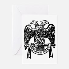 Double Headed Eagle Greeting Cards (Pk of 20)