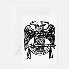 Double Headed Eagle Greeting Card