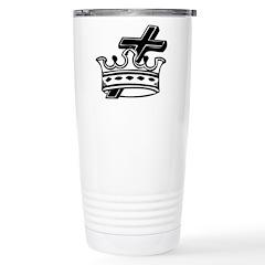 Cross and Crown Stainless Steel Travel Mug
