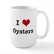 I love Oysters Mug