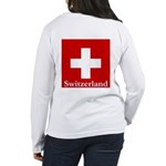 Swiss Cross-2 Women's Long Sleeve T-Shirt