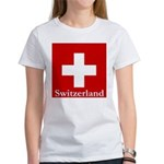 Swiss Cross-2 Women's T-Shirt