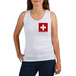 Swiss Cross-2 Women's Tank Top