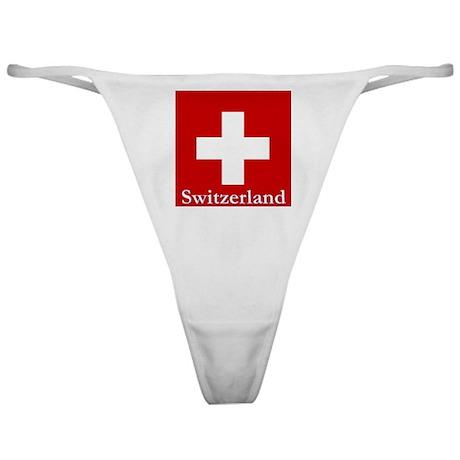 Swiss Cross-2 Classic Thong