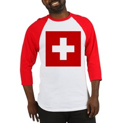 Swiss Cross-1 Baseball Jersey