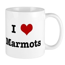 I love Marmots Small Mugs