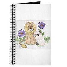 Unique Lion and lamb Journal
