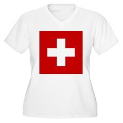 Swiss Cross-1 T-Shirt