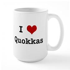 I love Quokkas Mug