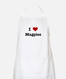 I love Magpies BBQ Apron