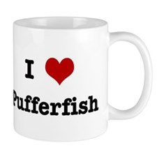 I love Pufferfish Mug