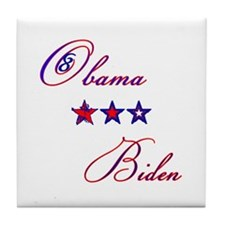 Obama-Biden Tile Coaster