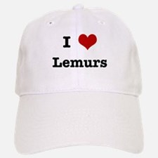 I love Lemurs Baseball Baseball Cap