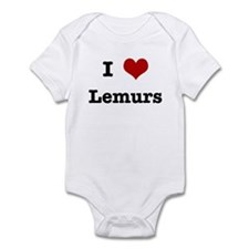 I love Lemurs Infant Bodysuit