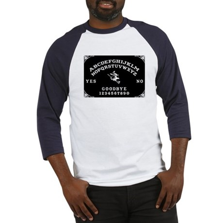 Witch Ouija Board Baseball Jersey