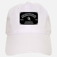Witch Ouija Board Baseball Baseball Cap