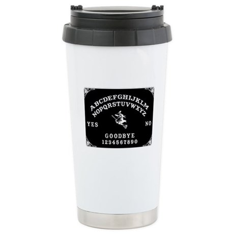 Witch Ouija Board Stainless Steel Travel Mug