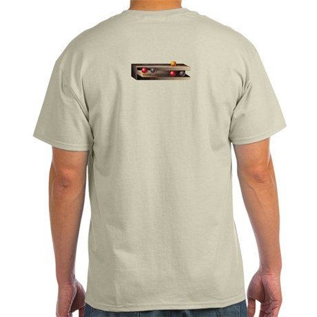 Optical Shelves Ash Grey T-Shirt
