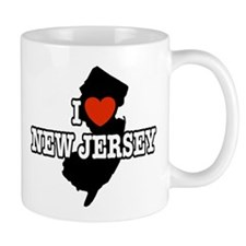 I Love New Jersey Coffee Mug