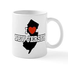 I Love New Jersey Small Mug