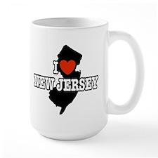 I Love New Jersey Coffee Mug