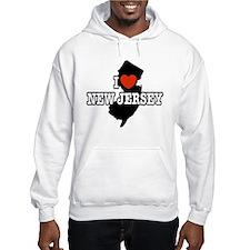 I Love New Jersey Hoodie