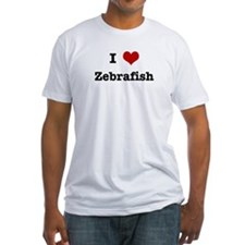 I love Zebrafish Shirt