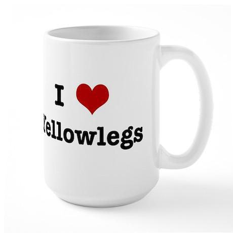 I love Yellowlegs Large Mug