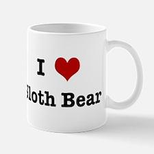I love Sloth Bear Mug