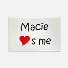 Cool Macie Rectangle Magnet