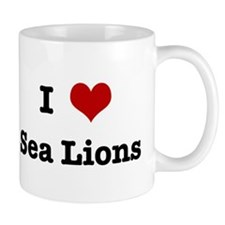 I love Sea Lions Mug