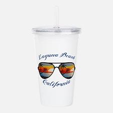 California - Laguna Be Acrylic Double-wall Tumbler